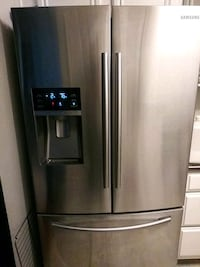 stainless steel french door refrigerator Dallas
