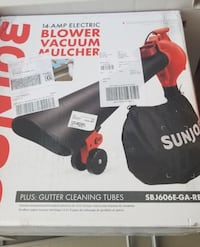 NEW PRICES Sun Joe 3 in 1 blower, Mulcher and vacuum and full size platform frame Des Moines, 50320