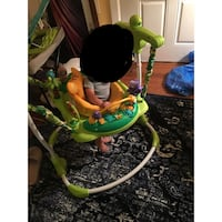 baby's green and white jumperoo Holbrook, 11741