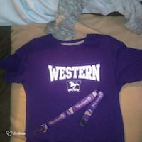 Western /purple/size L tee-shirt London, N6H 1M9
