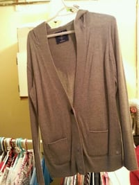 brown long-sleeved cardigan Calgary, T2T 4K6