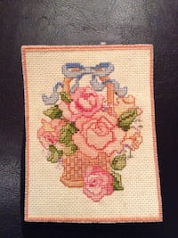 "3x4"" cross stitch for framing"