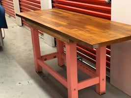 Kitchen Island, Table or Desk IKEA counter top..