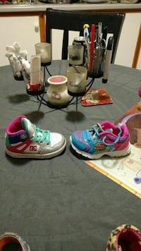 Dc and sketcher sneakers size 5 toddler  St. John's, A1E 5N8