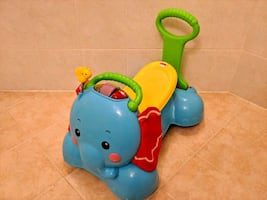 Push and ride toy