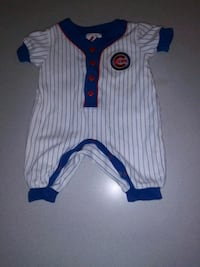 CHICAGO CUBS 3/6 MOMTH ONEPIECE JERSEY Naperville, 60563