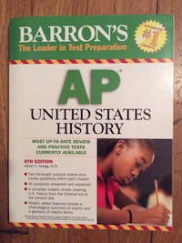Barron's AP US History Book Mount Vernon, 10553