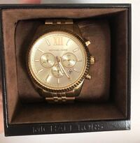 Real gold Michael Kors watch  Laval, H7M 2E8