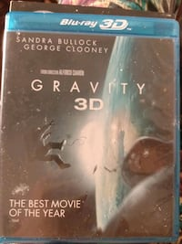 Gravity Blu Ray and Regular disc  Mount Clare, 26408