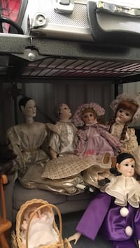 Collectable dolls and doll furniture 12 and up