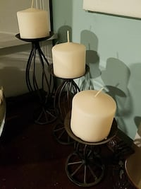 three white tea light candles Lindenhurst, 11757