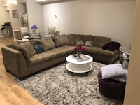 2 Piece Sectional (with measurements) Brandywine, 20613