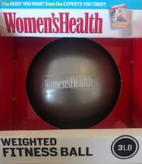 Women's Health 3-LB Soft Weighted Fitness Ball Pinole, 94564