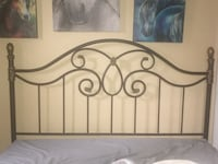 Beautifully crafted queen size headboard