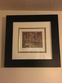 brown wooden framed painting of brown wooden house Kawartha Lakes, K0L 2W0