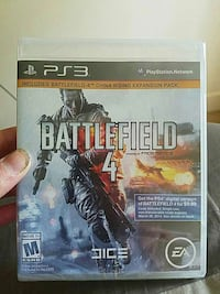 Sony PS3 Battlefield 4 game  Cave Spring, 24018