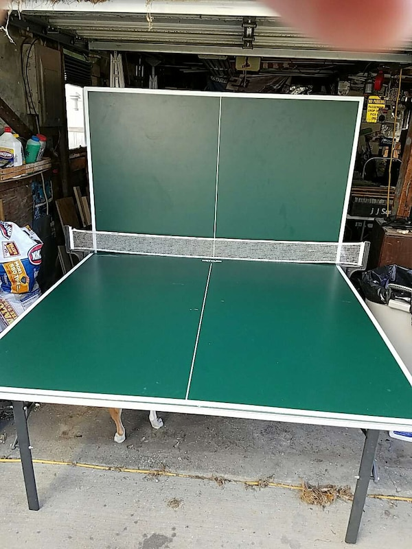Terrific Used Kettler All Aluminum Outdoor Ping Pong Table For Sale Home Interior And Landscaping Elinuenasavecom