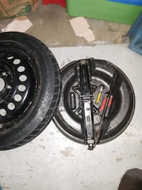 Goodyear spare tire kit