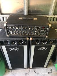 black and gray Peavey guitar amplifier Plymouth, 02360