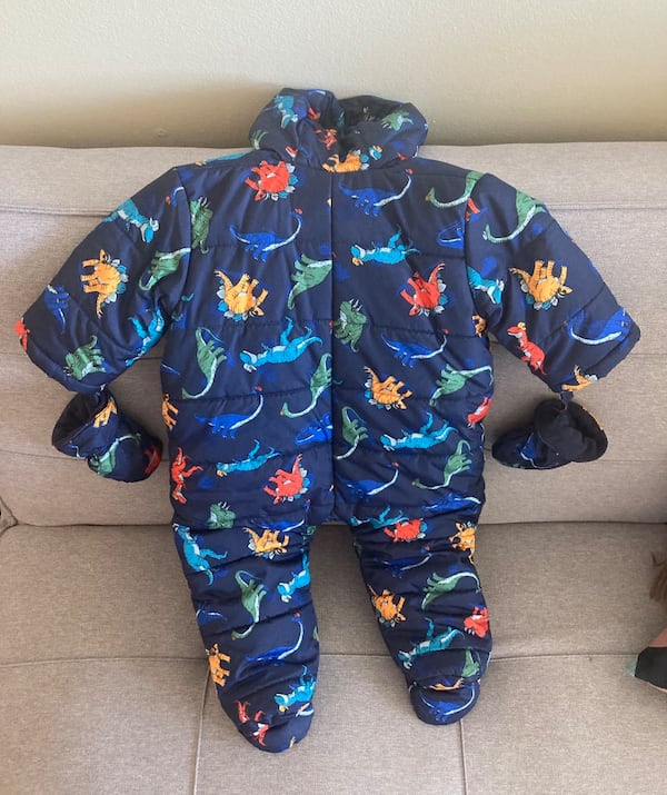 Snowsuit for boy baby 1