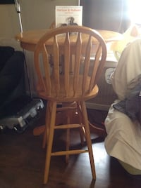 brown wooden windsor chair with table Cedar Grove, 07009