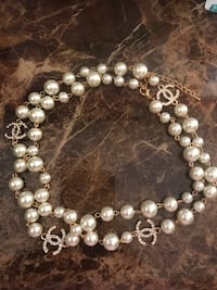 Long pearl cc necklace Charles Town, 25414