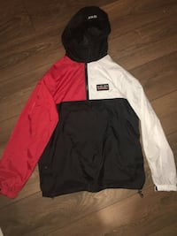black and white zip-up hoodie North Vancouver, V7G 2K4