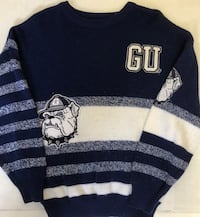 Georgetown Hoyas GU Prime Ticket Mens Small Blue Sweater Winnipeg, R2Y 2G4