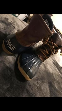 Pair of Brown & Blue Sperry Top-Sider Duck Boots Villa Rica, 30180