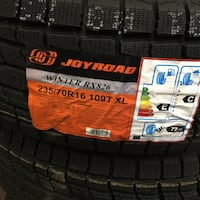 235/70/r16 winter tires brand new $460 balance installation  Brampton, L6R 3M6