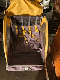 baby's black and yellow stroller Riverside, 92503