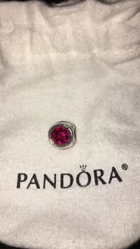 silver-colored red Pandora charm bead Mississauga, L5H 3S4