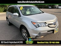 2008 Acura MDX SH-AWD with Technology and Entertainment Package Virginia Beach