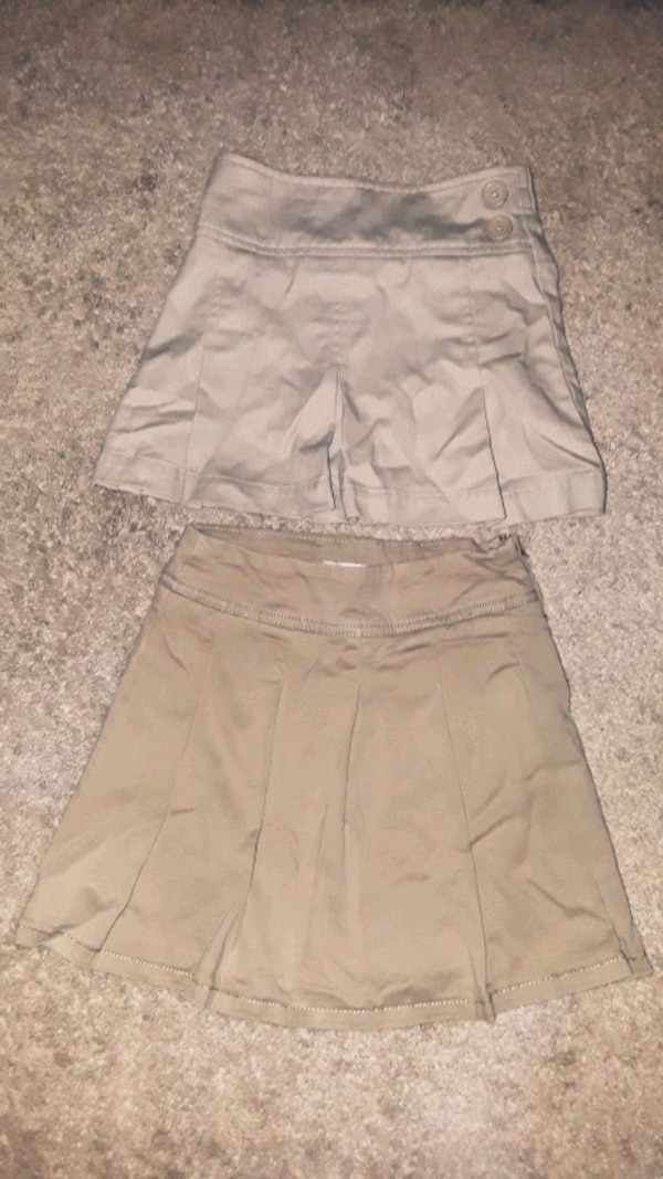 2 Khaki Skirts (Size 5) 8183a037-3ee5-4850-840c-0dadf1804454