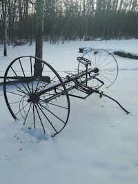 Old rake.... lawn ornament Sherwood Park, T8B