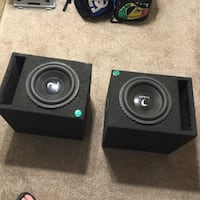 "Two 10"" inch diamond TDX subs brand new and hard too find great deal for the quality and old school yes but can't compare any new stuff to this Calhoun, 30701"