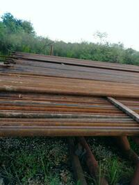 Used oil Field pipe..2  3/8 also have a 3/4 rod