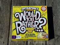 Would You Rather? Board Game Orangeville