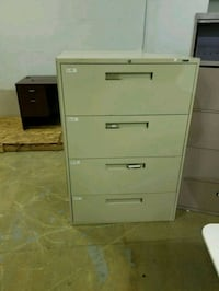 4 and 5 metal drawer file cabinets  Houston, 77041