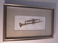 "Bailey Tidwell Limited Print ""Triumphant Trumpet"" Catharpin"