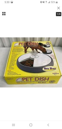 Automatic pet dish