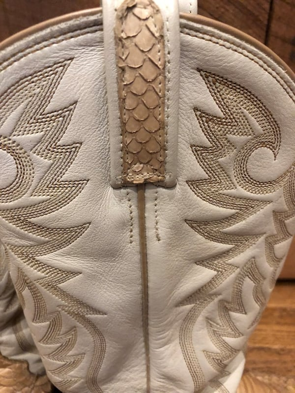 Snakeskin & Leather Boots Men's Size 9 / Genuine Dan Post Boots 82a37e03-09b5-43a8-aa56-ac214aa8779c