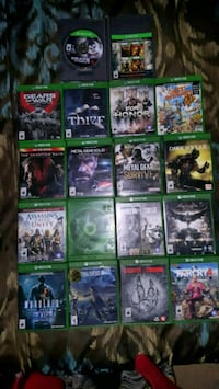 Xbox One games in great condition Winnipeg, R2P 0S3