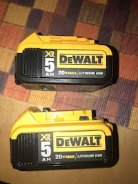 black and yellow DeWalt battery charger Anaheim, 92802