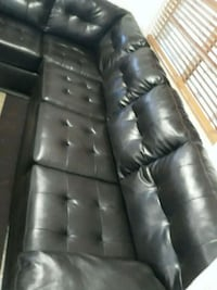 LIVING ROOM LEATHER BROWN .DELIVERY  SERVICE FREE  Hollywood, 33020