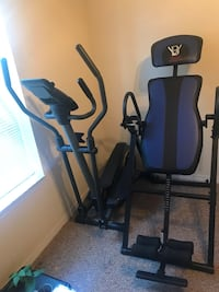 Lifestyle Elliptical and Body Vision Deluxe Inversion Table Orlando, 32809