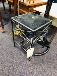 Marble plant stand  Midway Park, 28544