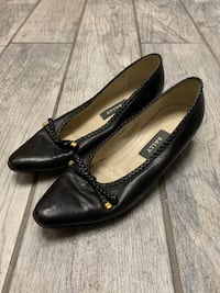 Vintage Bally Lucy Braided Black Pumps Size 7 M Springfield, 22150