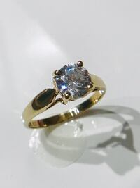 10k  .75 cubic zirconia  promise ring Fort Erie, L2A