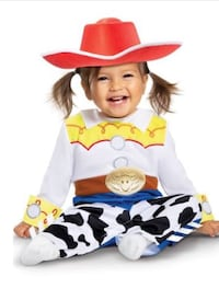 Deluxe Toy Story 4 Jessie Baby Costume